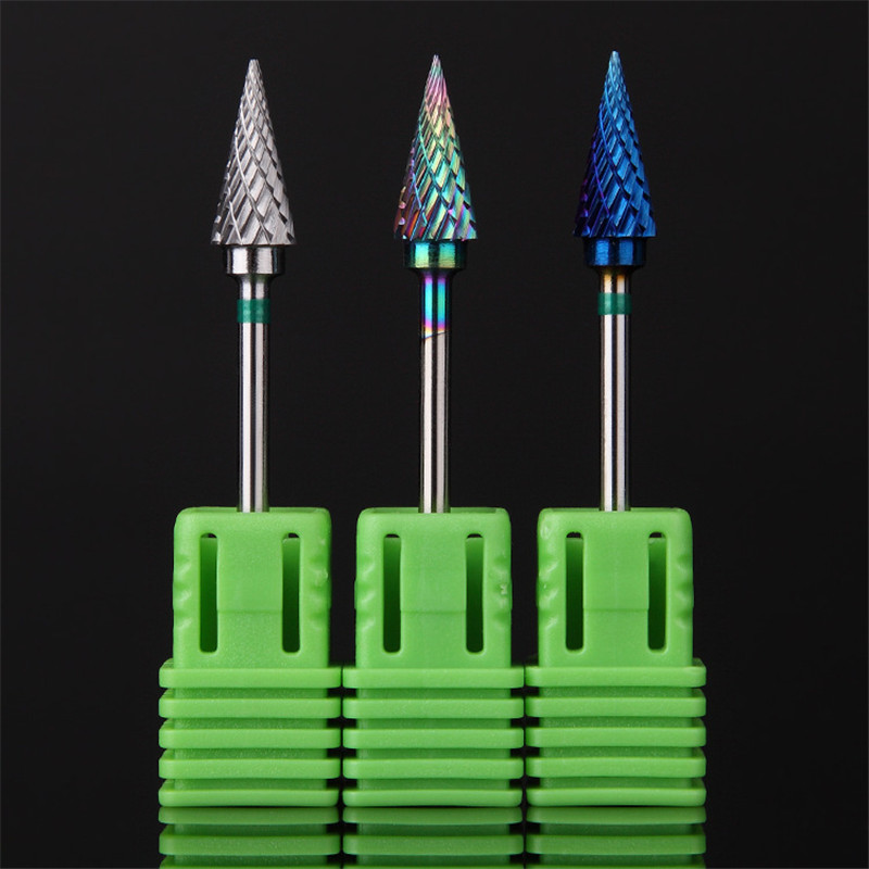 Tungsten Steel Electric Nail Drill Bits Manicure Tools