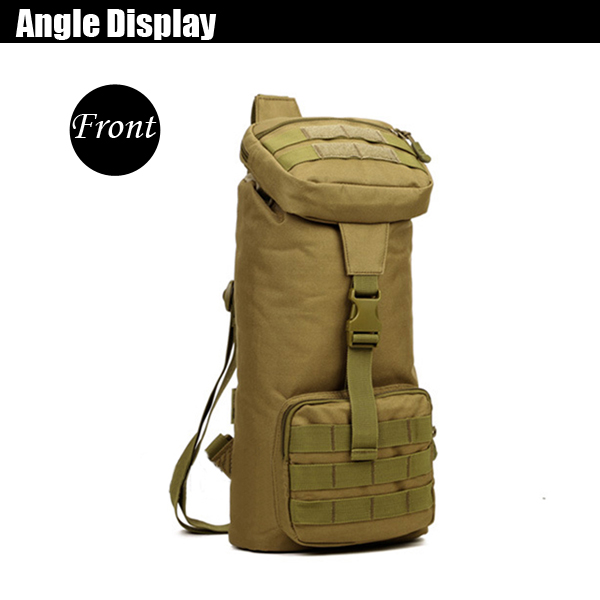 Men Large Capacity Tactical Package Shoulder Travel Casual Luggage Bag