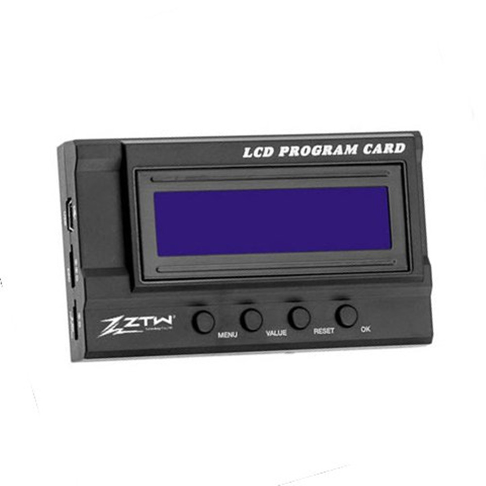ZTW LCD Program Card for Seal Gecko Series Rc Boat Brushless Electronic Speed Control