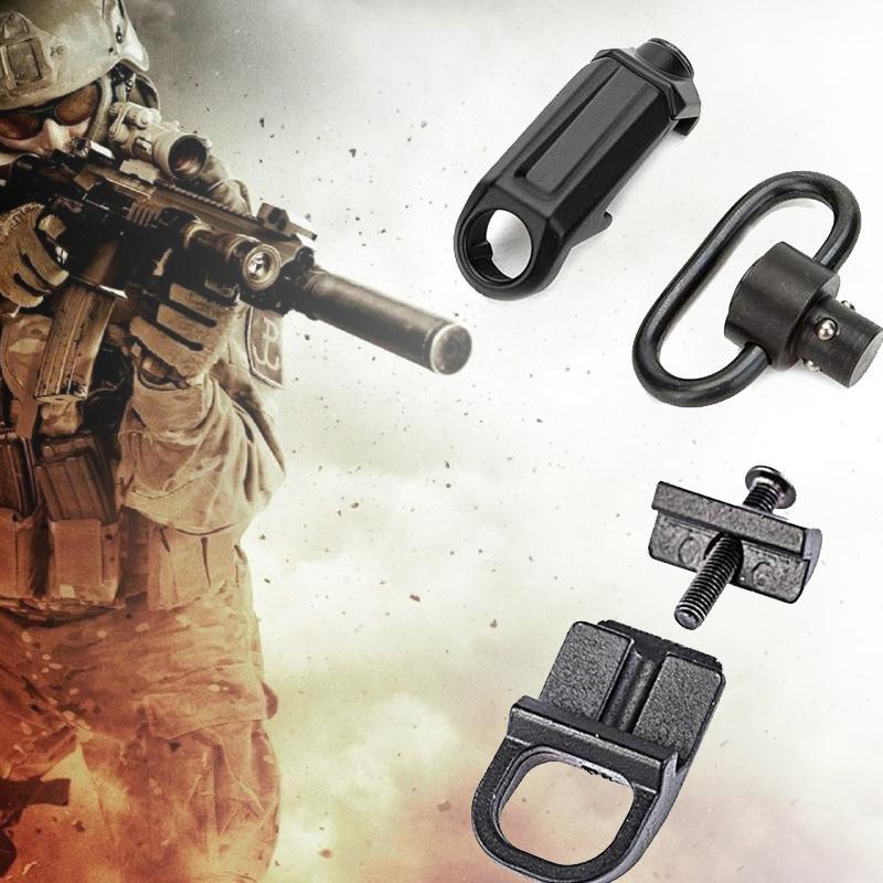 1PC Short+1 PC Long Sling Swivel Screw Fits Most & Shotgun Accessories
