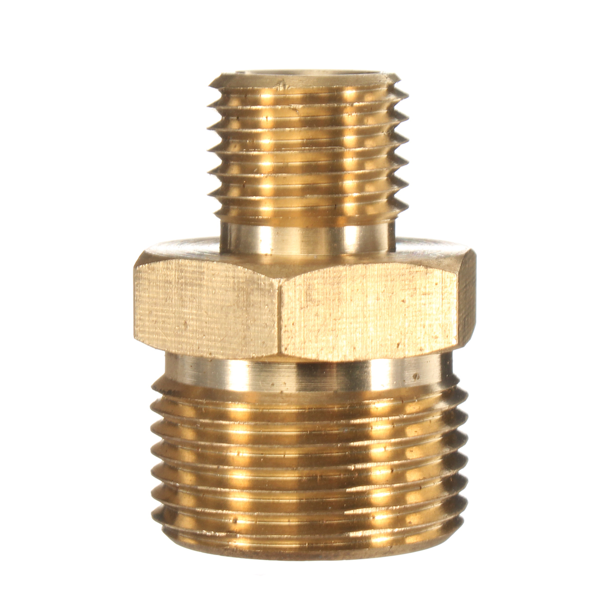 M22 Male to 1-4 Male Adapter Brass Pressure Washer Hose Quick Connect Coupling Fitting for Karcher