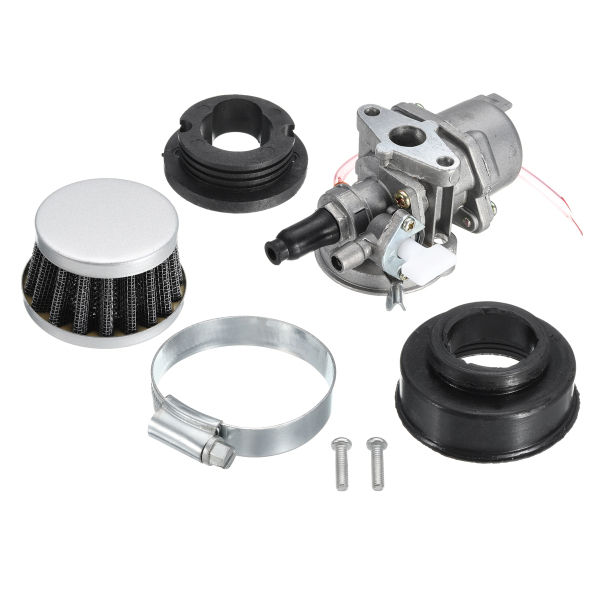 Carburettor Carb + Air Filter Kit For 47cc 49cc Mini Moto Pit Dirt Bike Go Kart