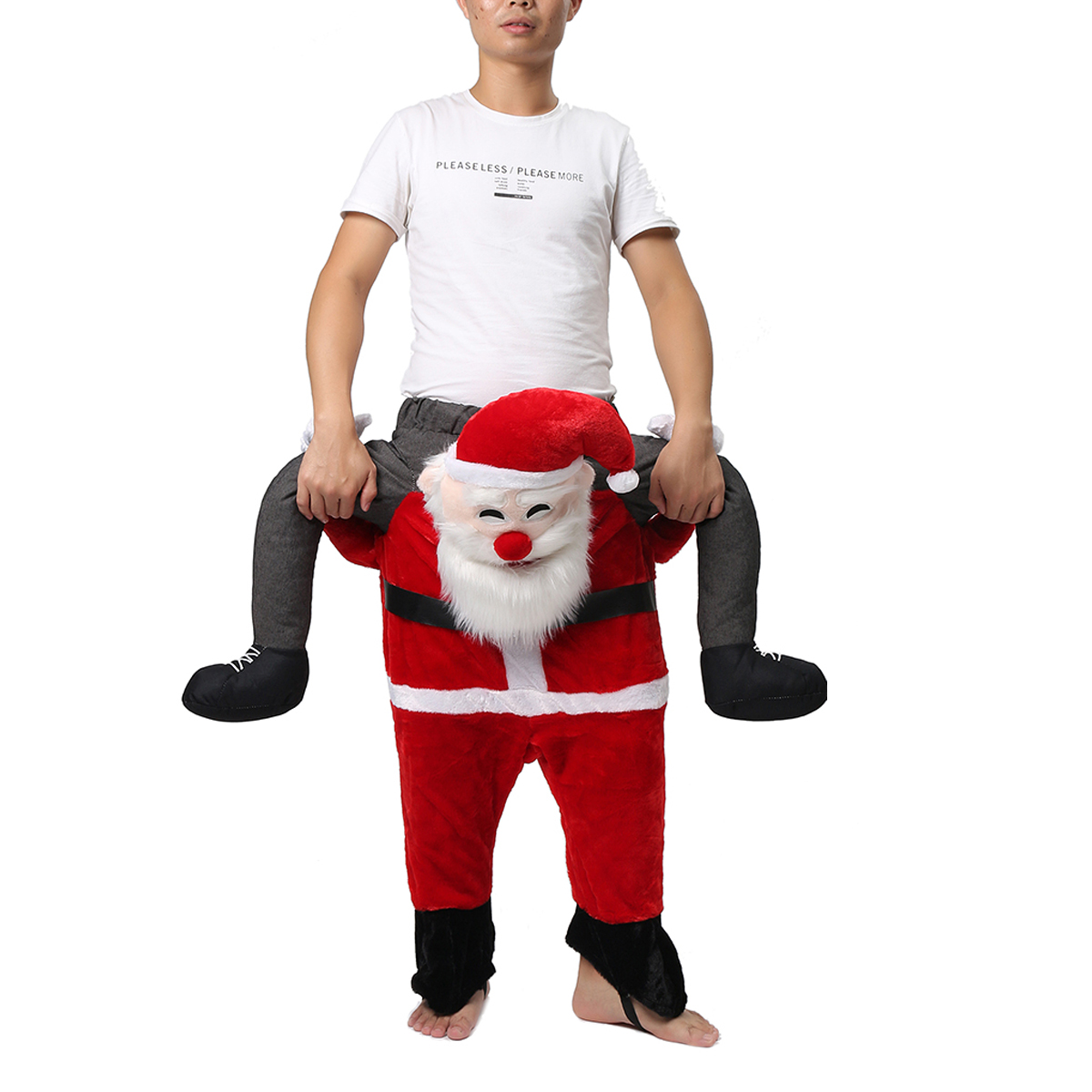 Christmas 2017 Shoulder Children Kid Piggy Back Shoulder Carry Me Stag Fancy Dress Costume Party Pants