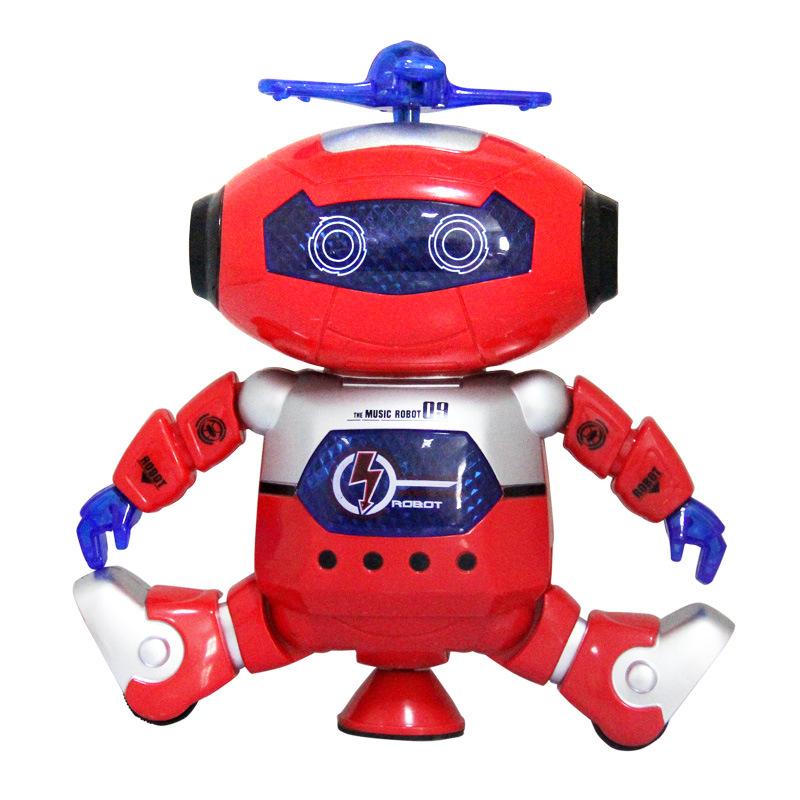 Electronic Walking Dancing Smart Space Robot Astronaut Kids Music Light Developemental Gift Toys