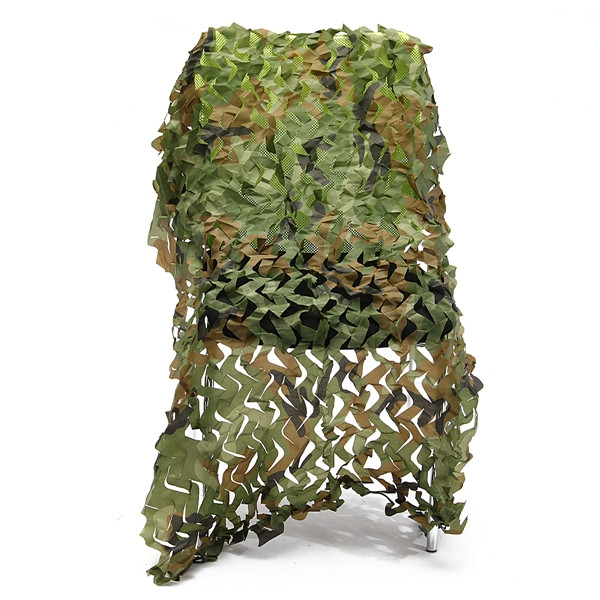 1mX1m Camo Camouflage Net For Car Cover Camping Military Hunting Shooting Hide