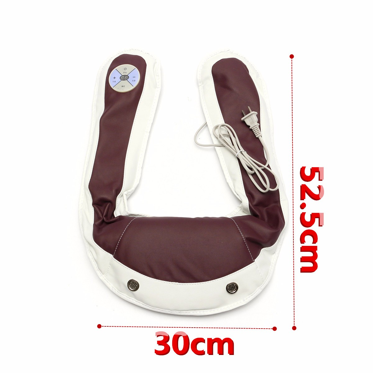 Electric Massage Cusion Neck Back Shoulder Body Pain Relief 59 Modes Kneading Heating Massager