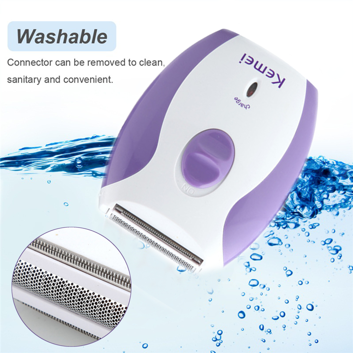 220V 4 in 1 Hair Remover Epilator Shaver Body Leg