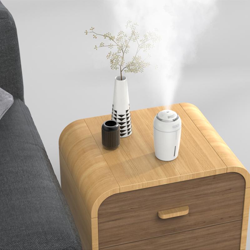 DROW USB Air Humidifier Aroma Essential Oil Diffuser