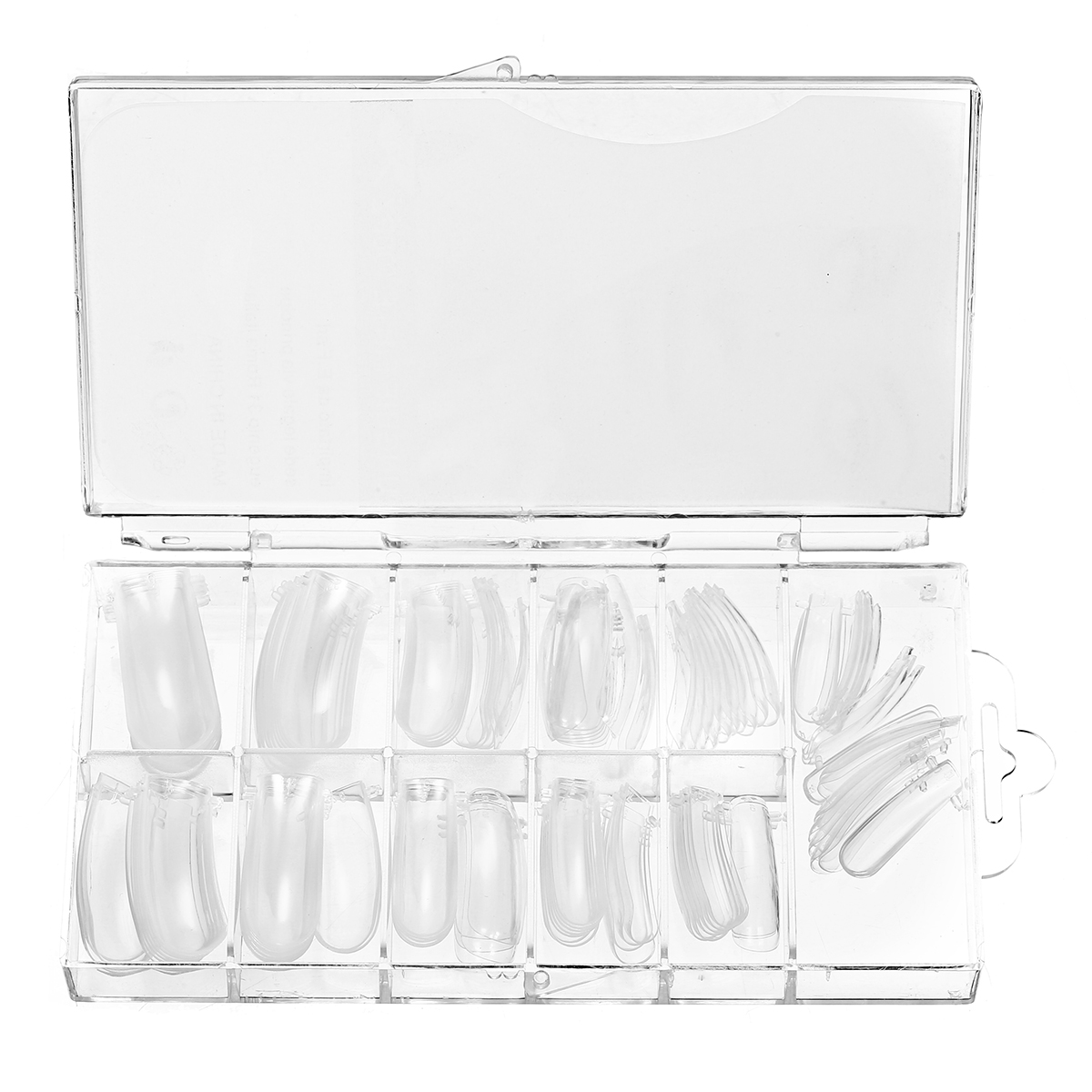 UV Poly Gel With Nail Brush 100Pcs False Tips