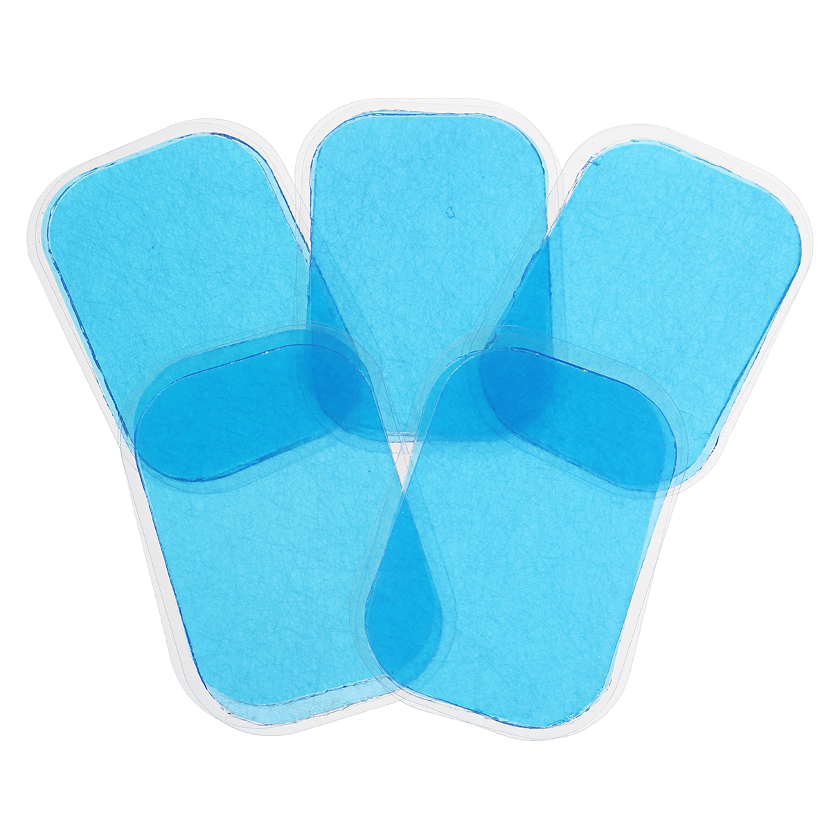 KALOAD 16PCS/Set Blue Replacement Gel For Abdominal Muscle Training Pads Gear Fitness Massage