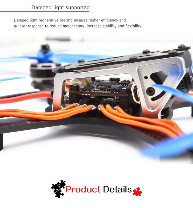 Flycolor X-Tower F4 Flight Controller OSD + 40A BLHeli_32 4 IN 1 3-6S ESC Dshot1200 Current Sensor - Photo: 7