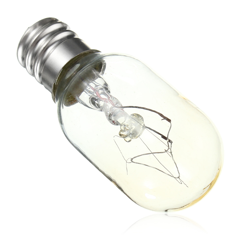 15W/25W 120V E12 Incandescent Glass Light Bulb Refrigerator Salt Oven Lamp