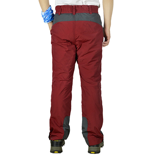 Plus Cashmere Warm Soft Shell Mountaineering Trousers Outdoor Windproof Pants
