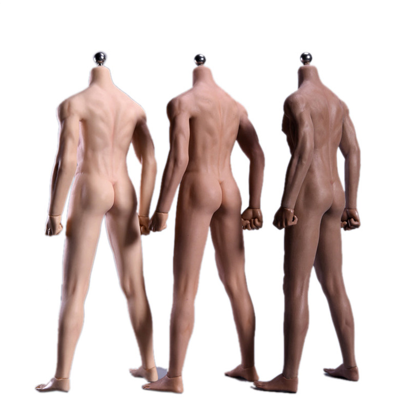 3.0 1:6 Scale Action Figure Male Body Toys Removable Human Nude Muscular Body JOK-11C