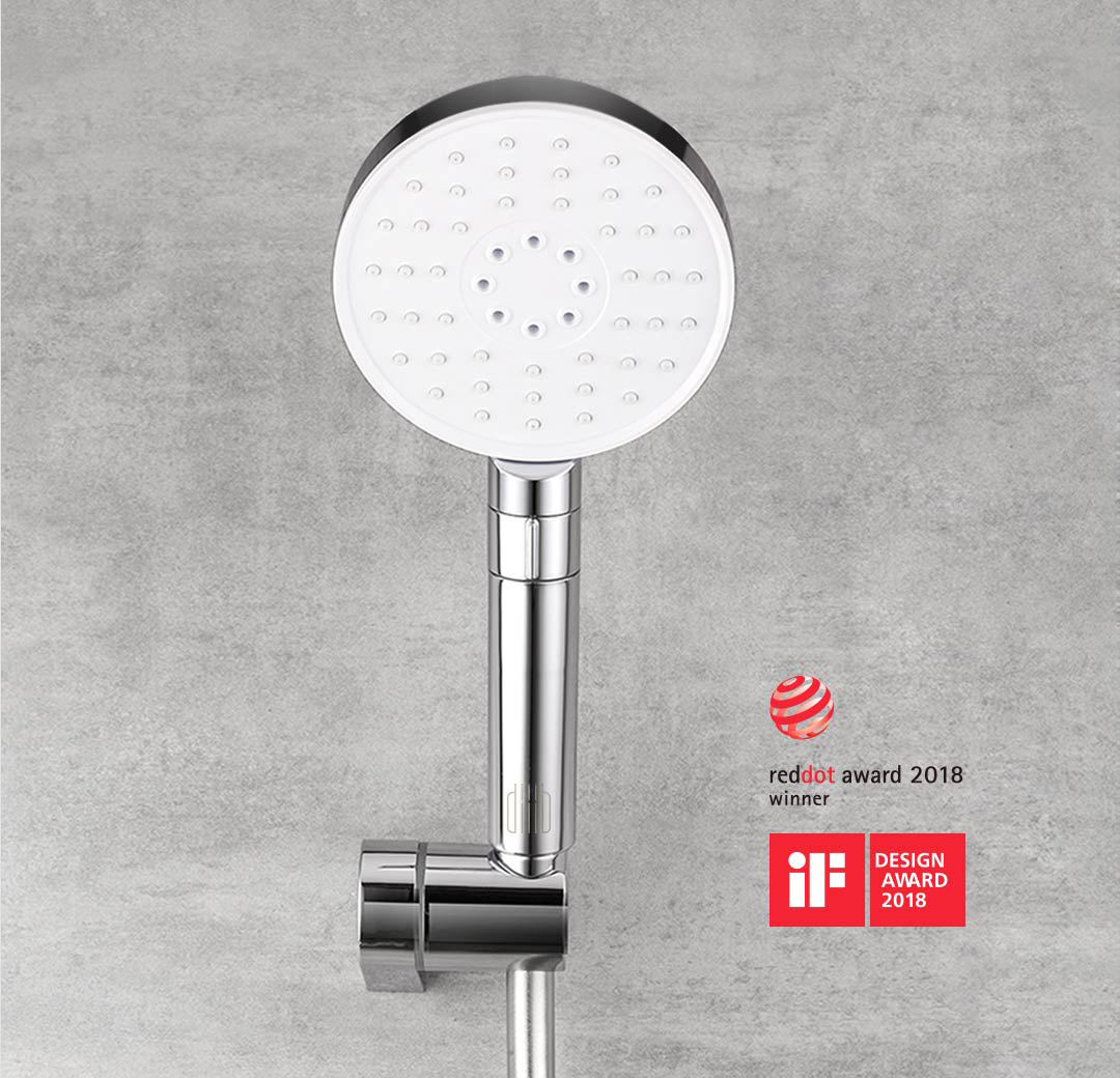 Diiib 360 Degree Handheld Shower Head Hose Lifter Pipe Set 3 Spray Modes Powerful 53 Spraying Holes Lifting Frame from Xiaomi Youpin