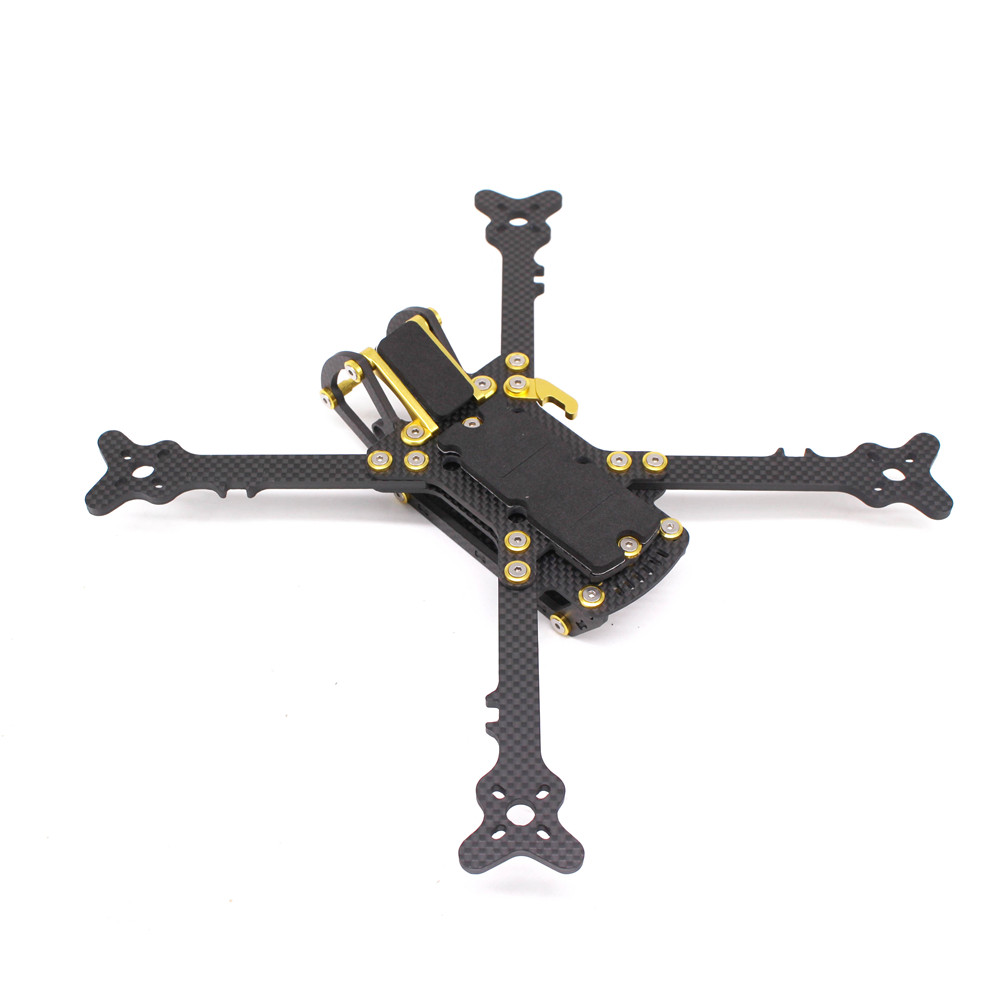 PUDA 250 250mm 5 Inch Carbon Fiber FPV Freestyle RC Drone Frame Kit 4mm Arm For DALPROP 5045