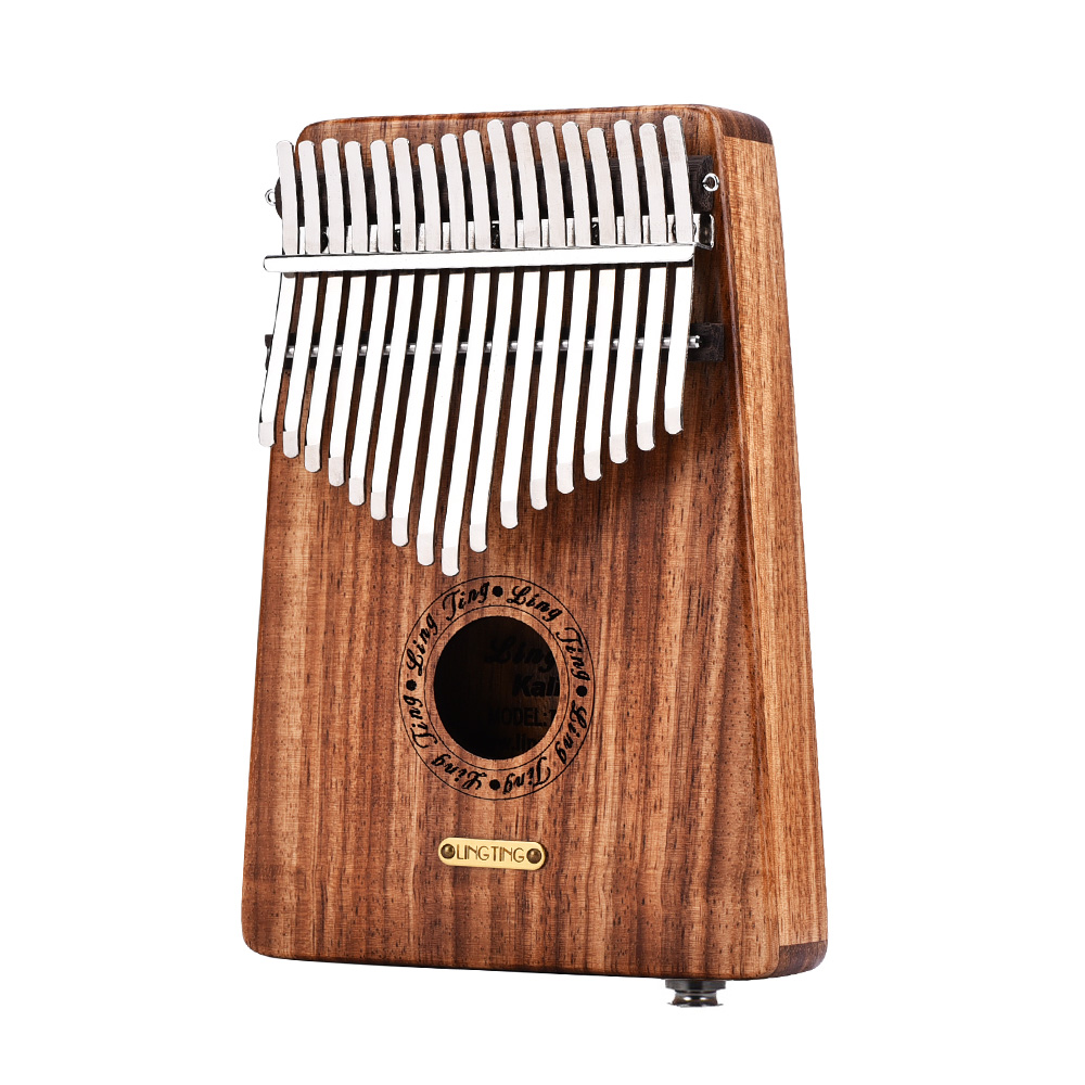 LINGTING 17 Keys Rosewood Africa Kalimba Thumb Piano Finger Percussion Musical Instrument Coupon d0896c