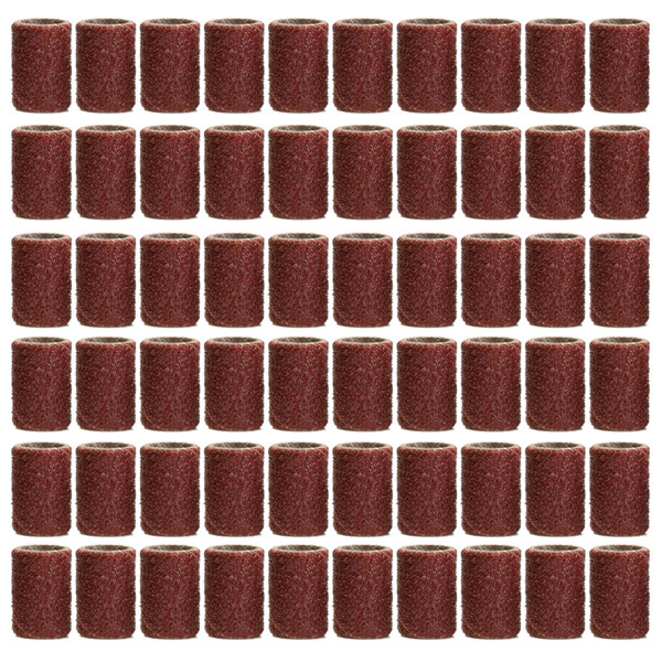 319pcs 3/8 1/4 1/2 Inch Sanding Bands Drums Sleeves 60 120 320 Grit Sanding Drum