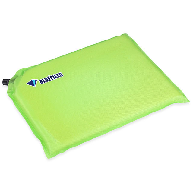 Outdoor Inflatable Foldable Sponge Floor Mat Seat Pad Traveling Hiking Camping Moistureproof Cushion