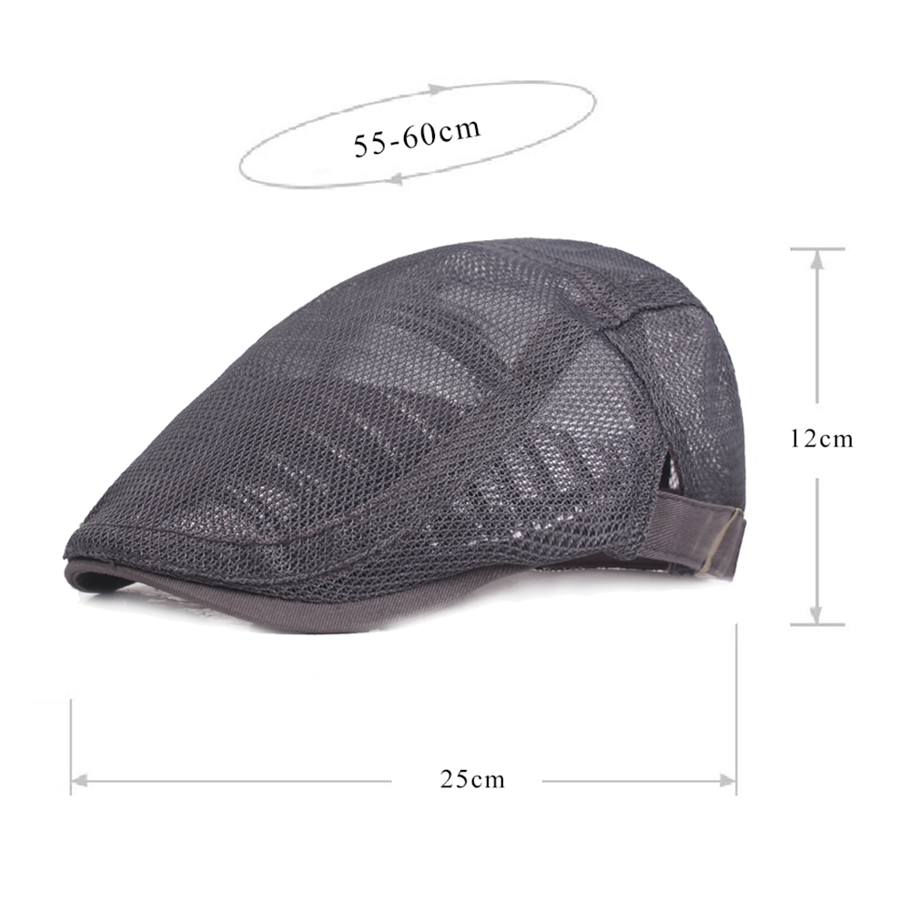 f4c2a1e0339 mens womens mesh breathable painter beret cap at Banggood