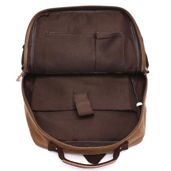 мужчины мешок, холст, большая емкость, путешествия молния многофункциональный, плечи сумка рюкзак