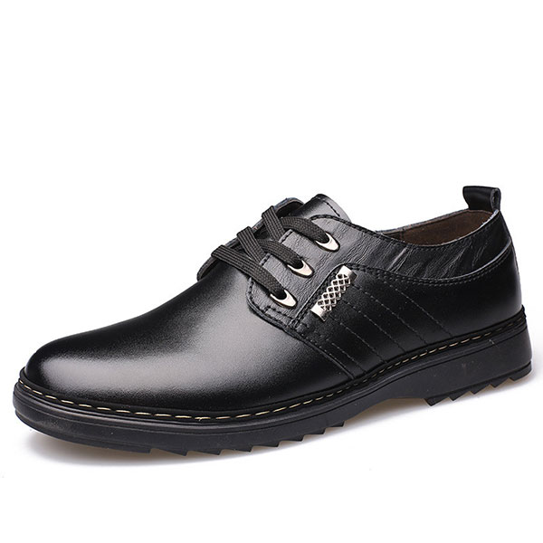 Comfy Leather Business Oxfords