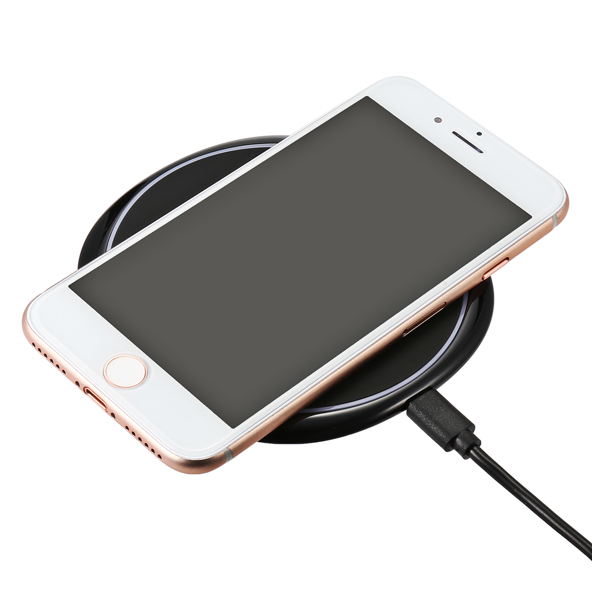 ELE U6 10W Qi Wireless Charger Fast Charging Pad For iP