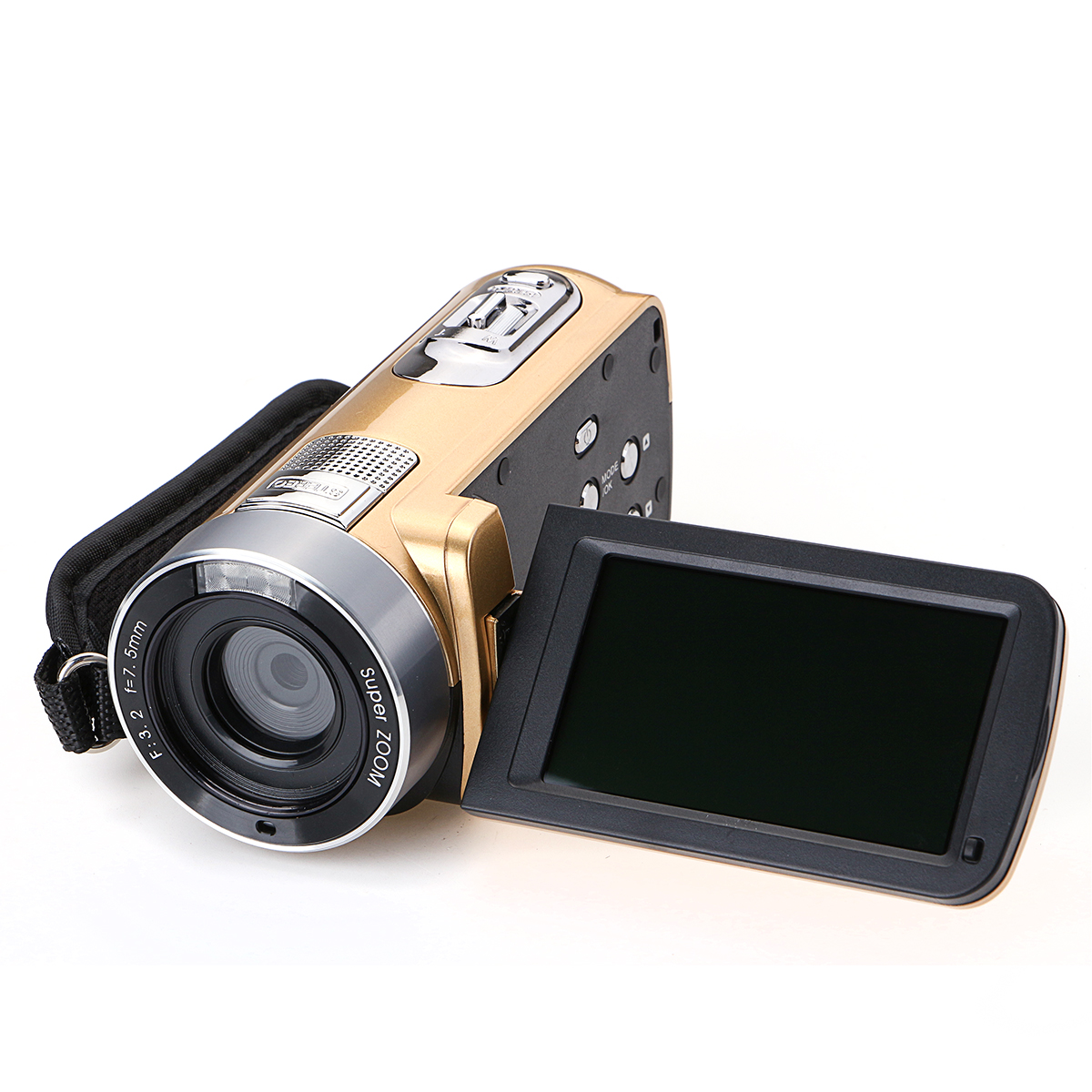 HD 1080P 24MP 18X Zoom 3.0 Inch LCD Digital Video Recorder IR Night Version DV Camera Camcorder DVR