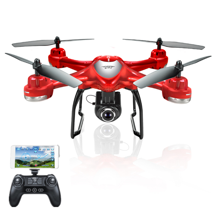 S-SERIES S30W Double GPS Dynamic Follow WIFI FPV With 720P Wide Angle Camera RC Drone Quadcopter