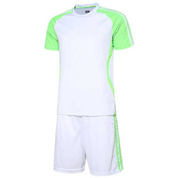 Adults Men's Short Sleeve Football Suit Night Training Reflection Soccer Suits Men Jersey