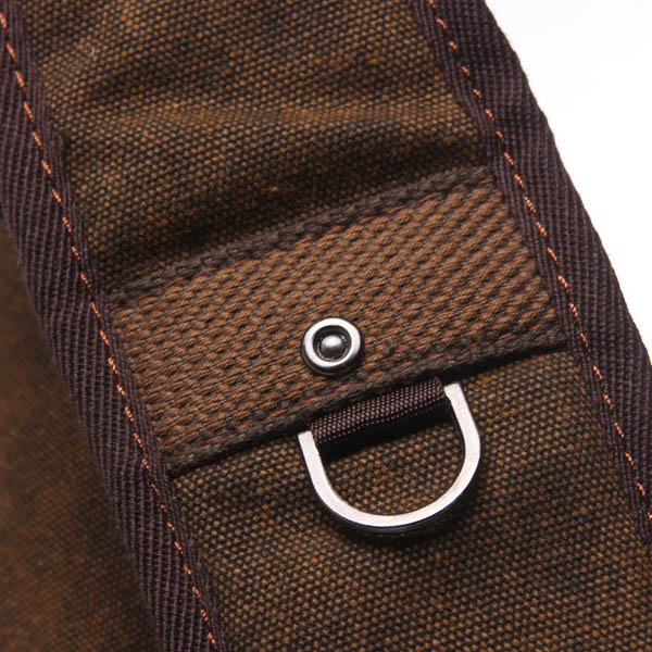 Crescent Style Men Vintage Large Canvas Travel Hiking Military Messenger School Bags