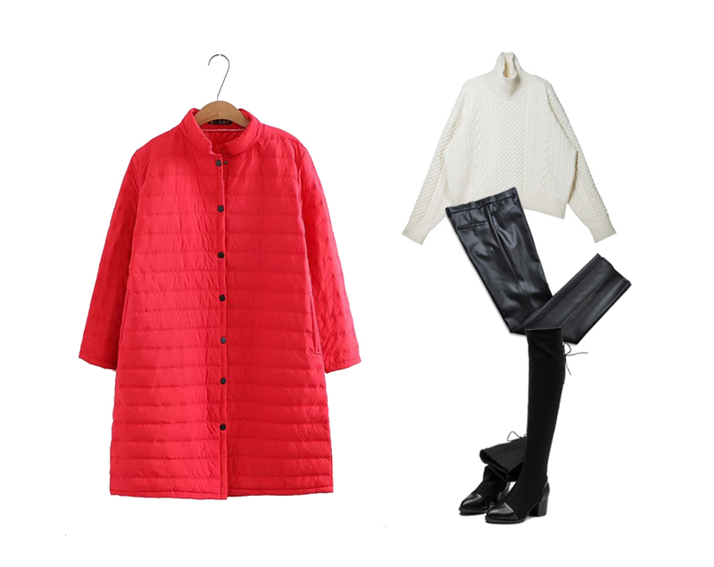 Plus Size Casual Women Pure Color Stand Collar Coats