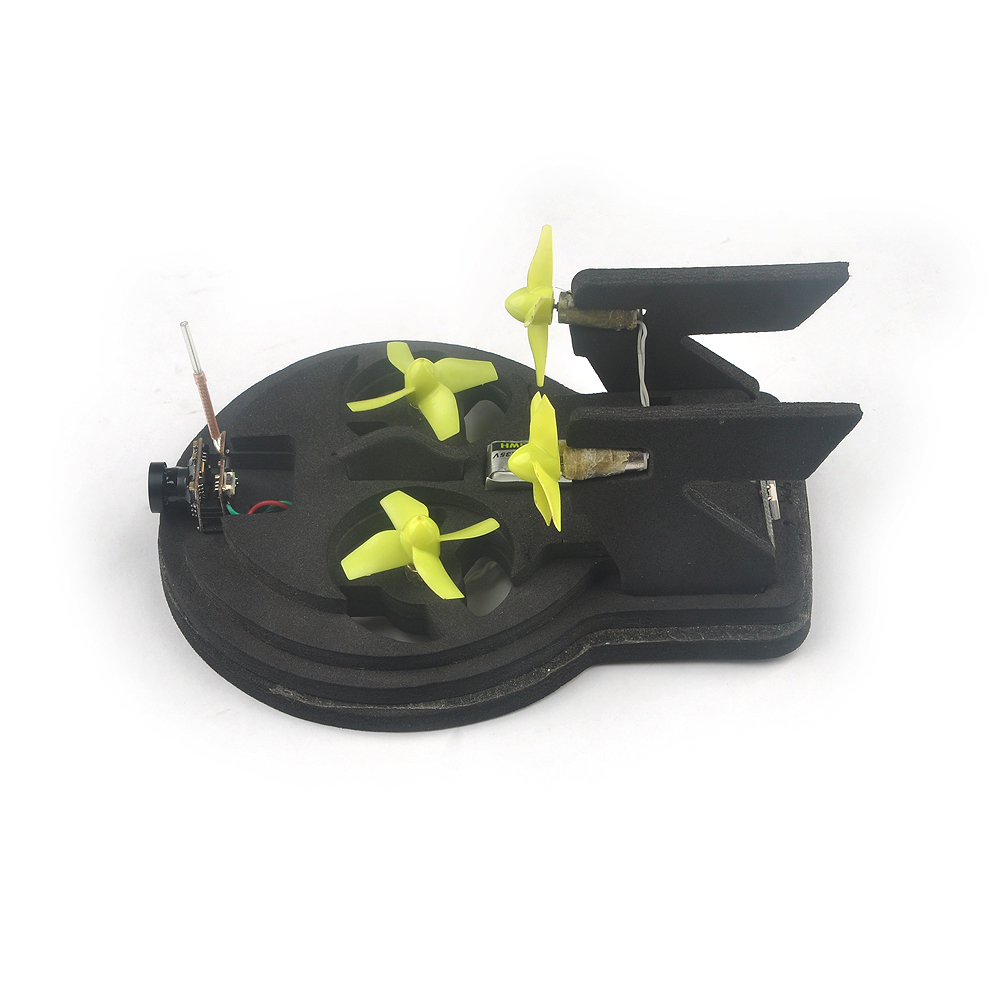Tiny whoover EW65 FPV Hovercraft RC Quadcopter Built-in Beecore V2.0 Flight Controller - Photo: 9
