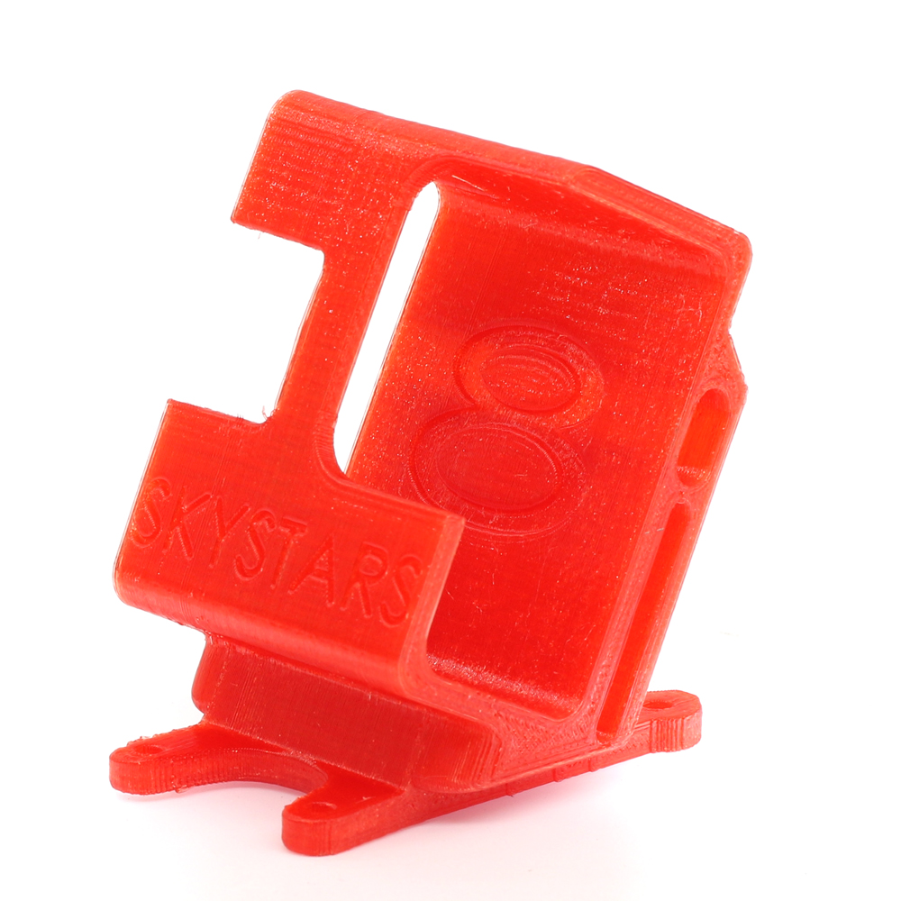 SKYSTARS 228 HDV2 Grey/Yellow/Red 3D Printing TPU Camera Protector 24g Seat Holder for Gopro 8 Camera