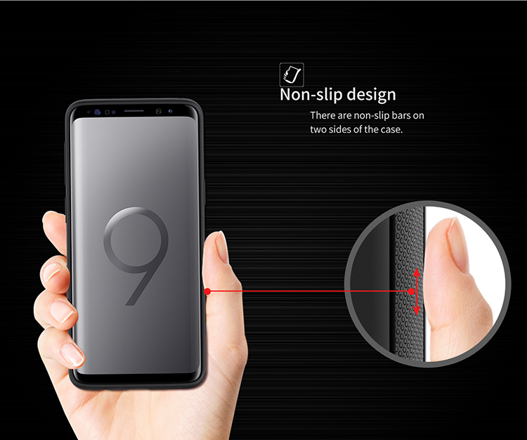 NILLKIN Support Wireless Charging With Magnetic Protective Case for Samsung Galaxy S9 Plus