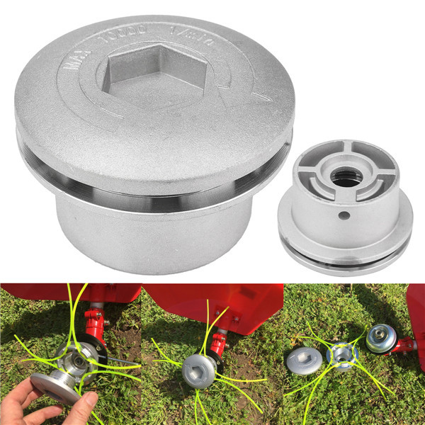 Alloy Trimmer Head with Line for Brush Cutter