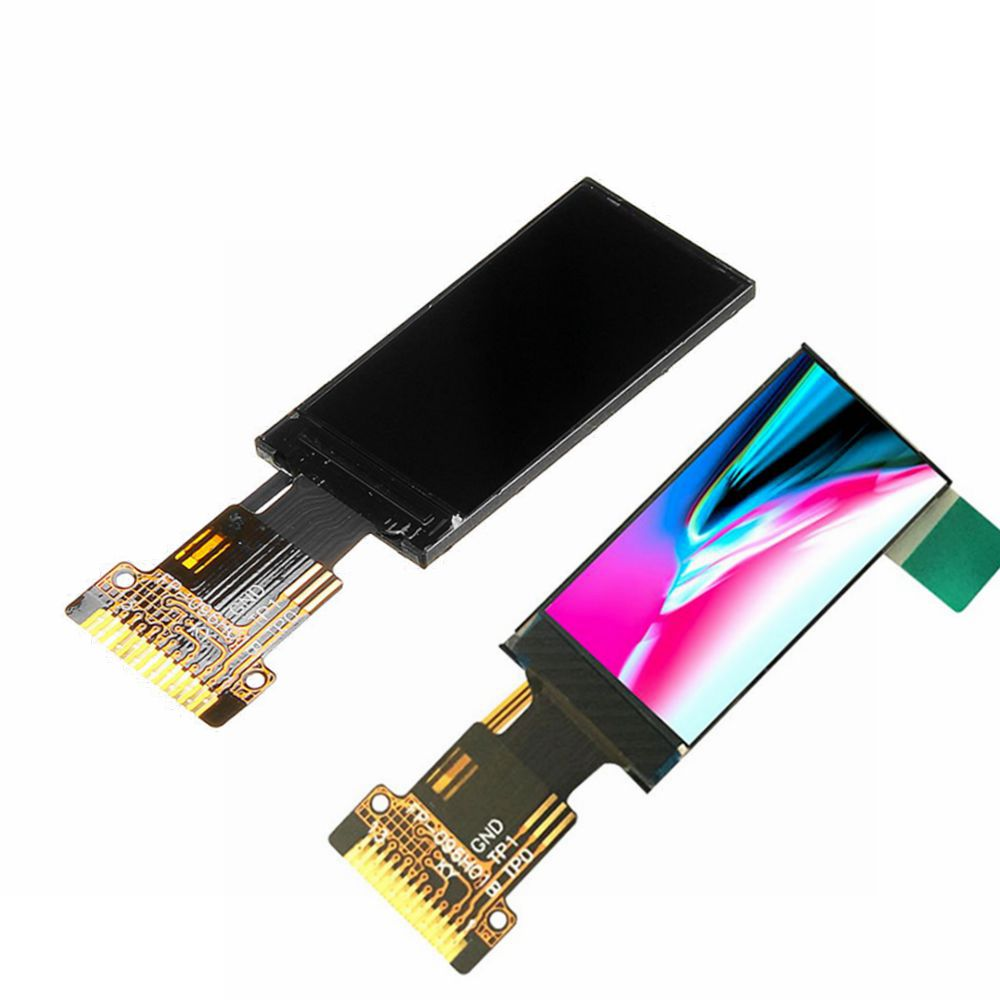 0.96 Inch HD RGB IPS LCD Display Screen SPI 65K Full Color TFT ST7735 Drive IC Direction Adjustable