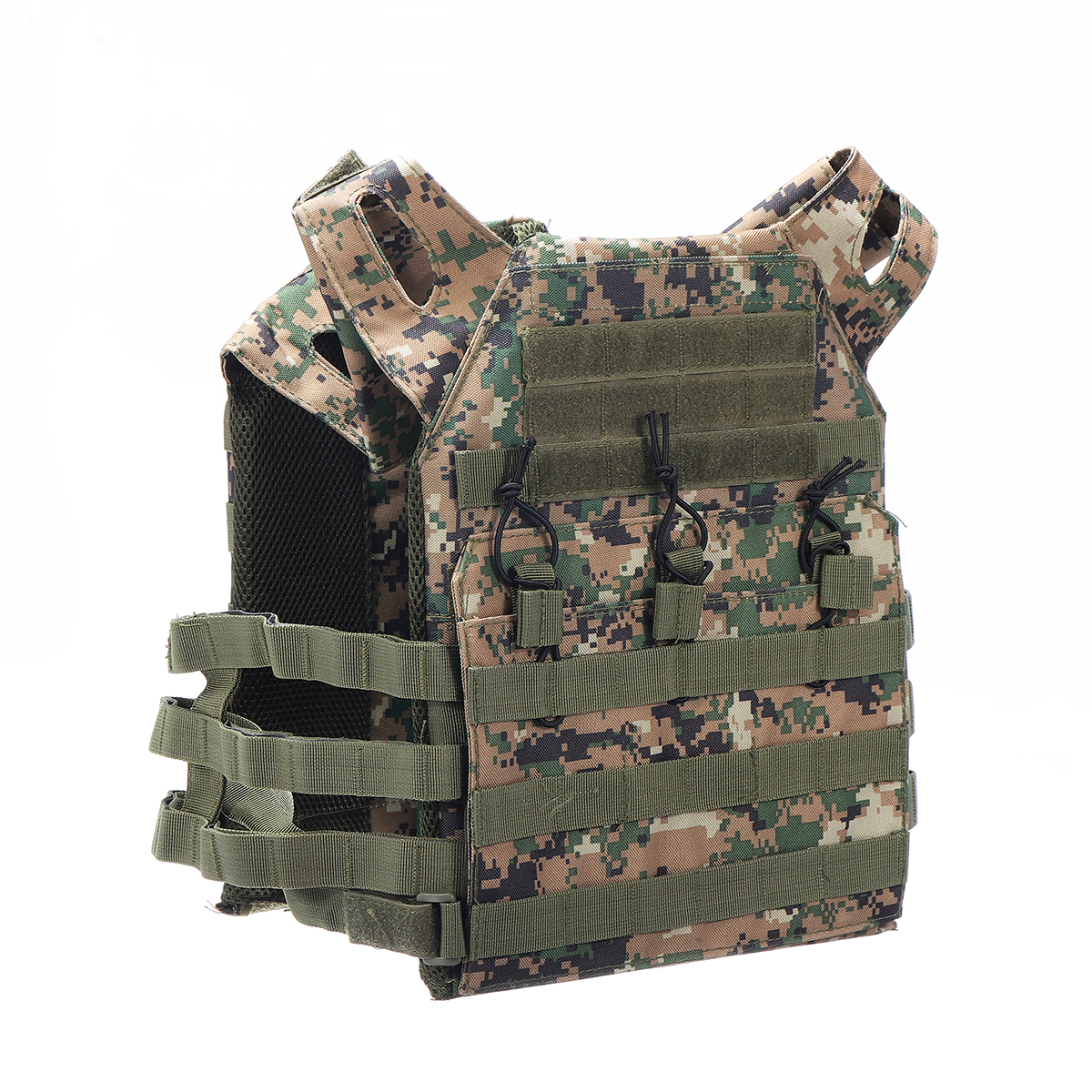 Lightweight Plate Carrier Tactical Vest Military Hunting Airsoft Combat Portable