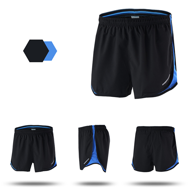 Mens Marathon Running Quick Drying Shorts Training Fitness Sports Shorts