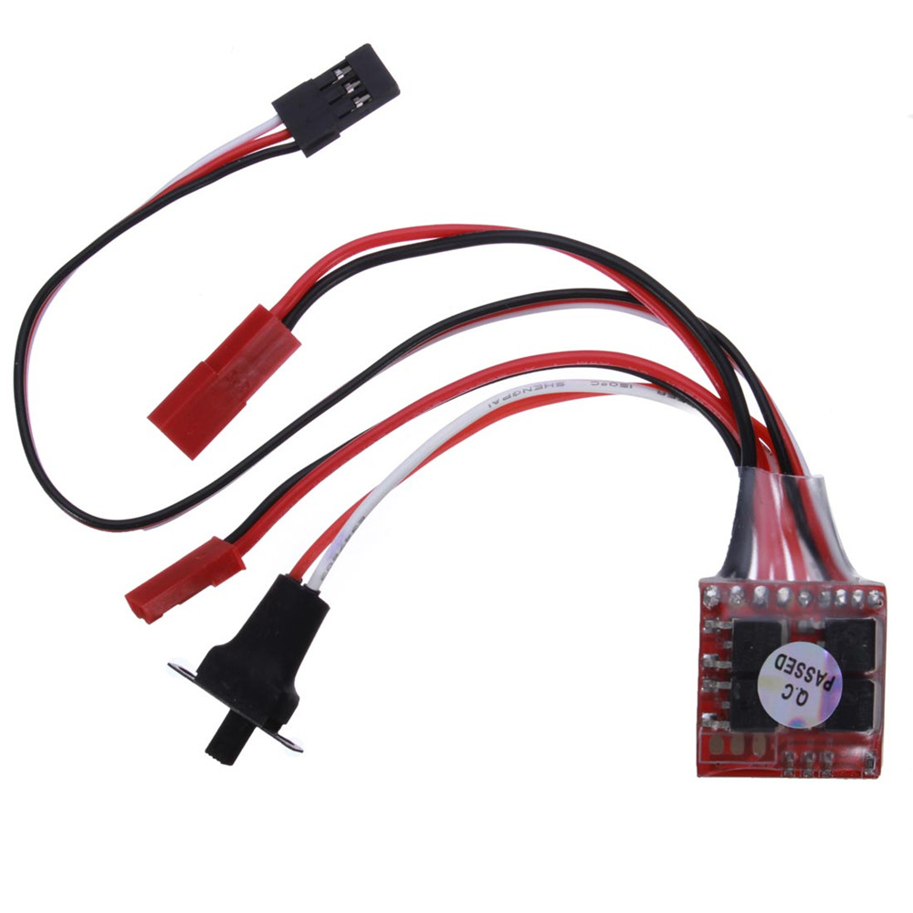 20A Double Sides Brushed ESC For RC Car/Boat