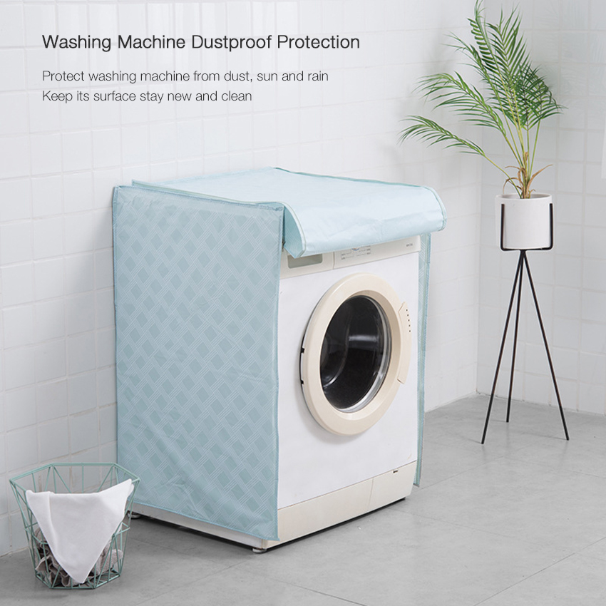 Home Waterproof Dustproof Solar Protection Case Roller or Impeller Type Washing Machine Dust Cover
