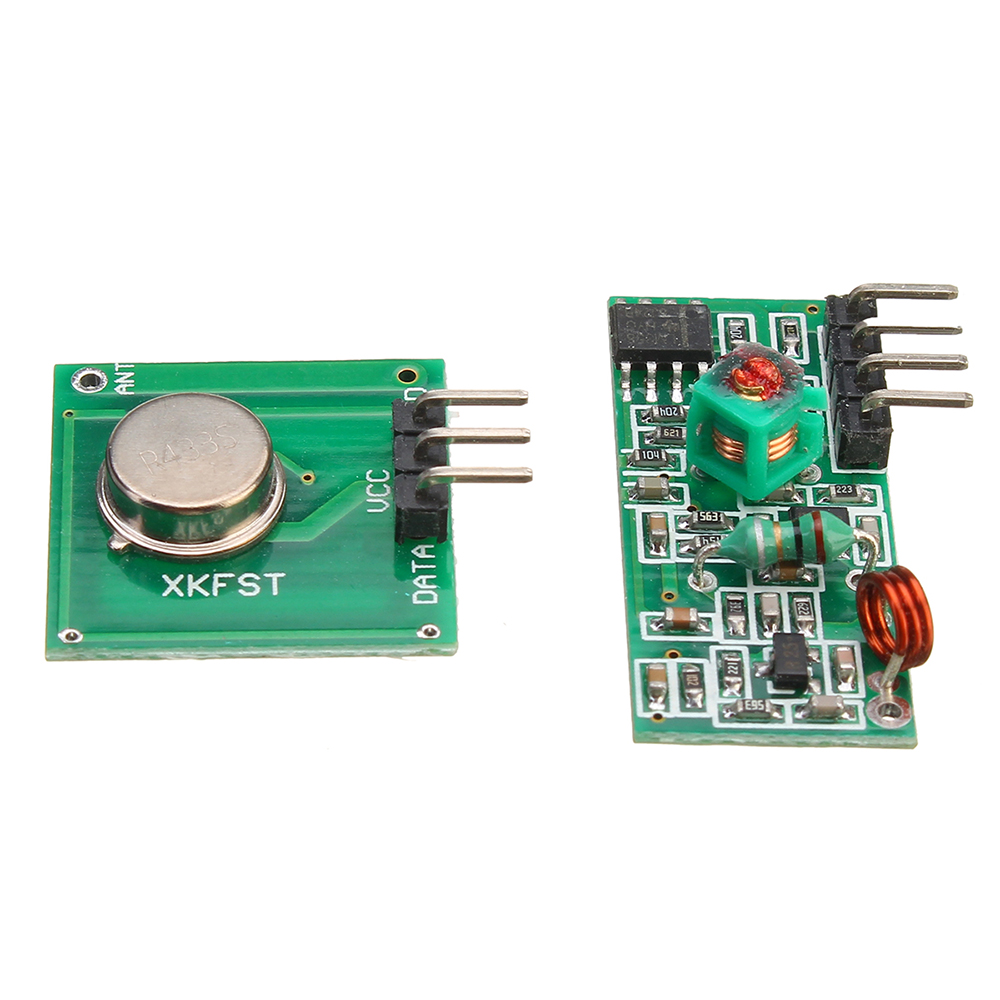 3pcs 433Mhz RF Decoder Transmitter With Receiver Module Kit For Arduino ARM MCU Wireless