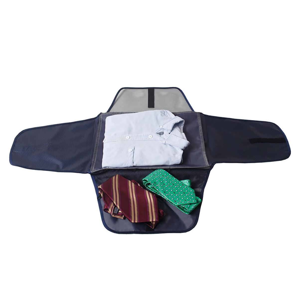 Travel Luggage Organizer Anti-wrinkle Shirt Garment Clothing Storage Folder Suitcase Packing Bag