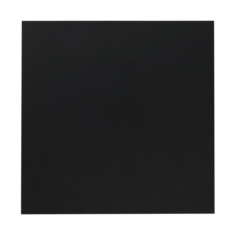 220*220*0.8mm Black Matte Polyetherimide PEI Sheet With Glue For 3D Printer
