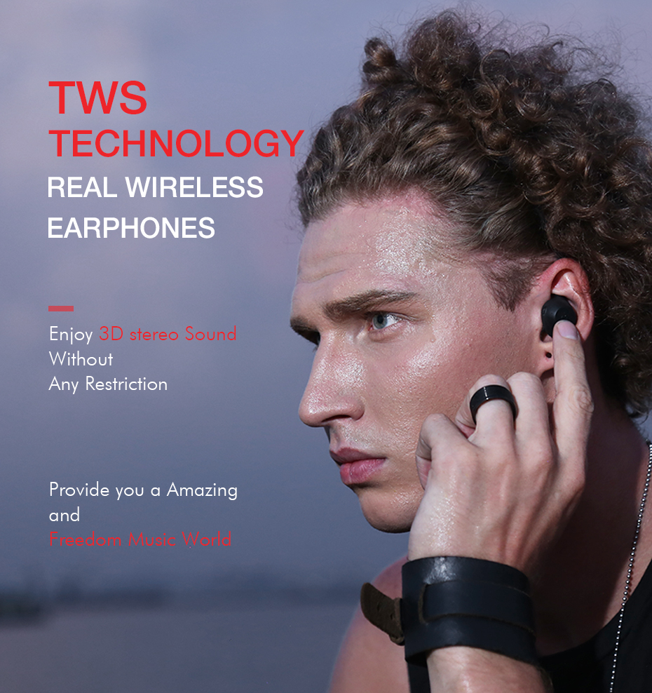 [Truly Wireless] Havit G1 Sports IPX5 Waterproof Stereo bluetooth 5.0 Earphone with Charging Box