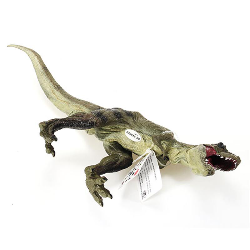 Cikoo New Jurassic Tyrannosaurus Rex Dinosaur Plastic Toy Diecast Model Kids Gifts