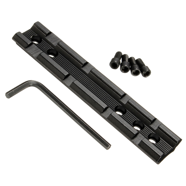 Tactical Dovetail Weaver Picatinny Rail Adapter 11mm to 20mm Scope Extend Mount
