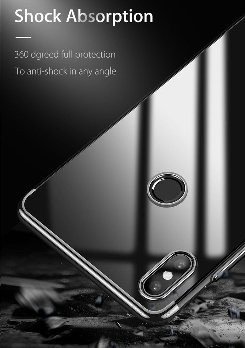 Bakeey Electroplate Ultra Thin Shockproof Protective Case For Xiaomi Mi8 SE
