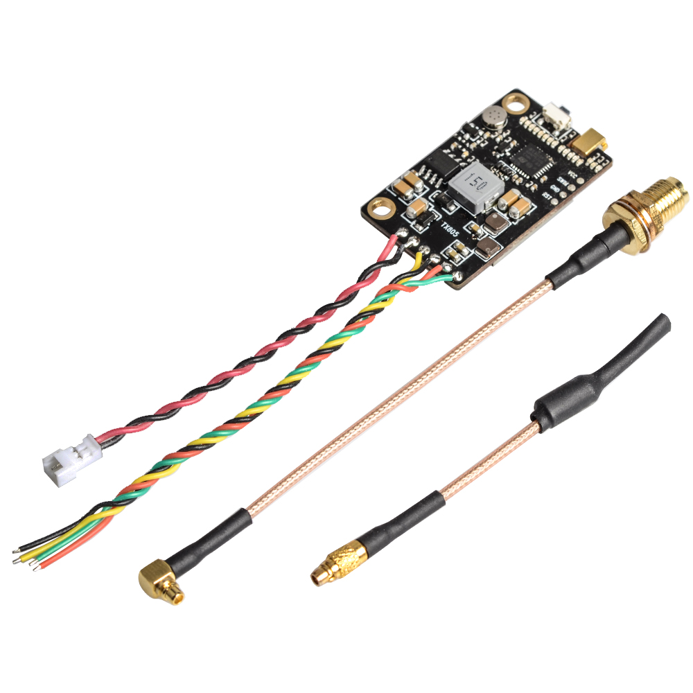 Eachine TX805 5.8G 40CH 25/200/600/800mW FPV Transmitter TX LED Display Support OSD/Pitmode/Smart Audio 57% OFF