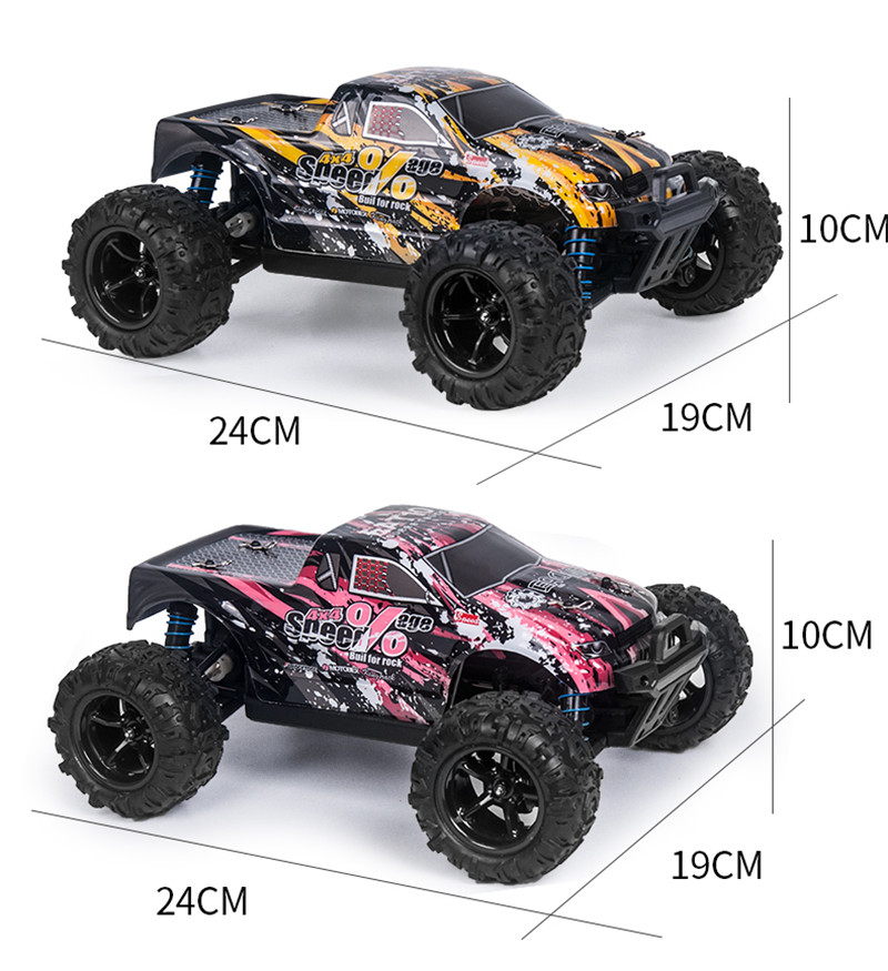 Eachine EAT10 1/18 Brushless RC Car with 2.4GHz Remote Control High Speed 40km/h 4WD Off Road Monster Truck RC Model Vehicle Crawler for Boys Kids and Adults - Photo: 10